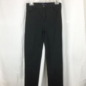 Not Your Daughters Jeans sz 6P Black Lift/Tuck